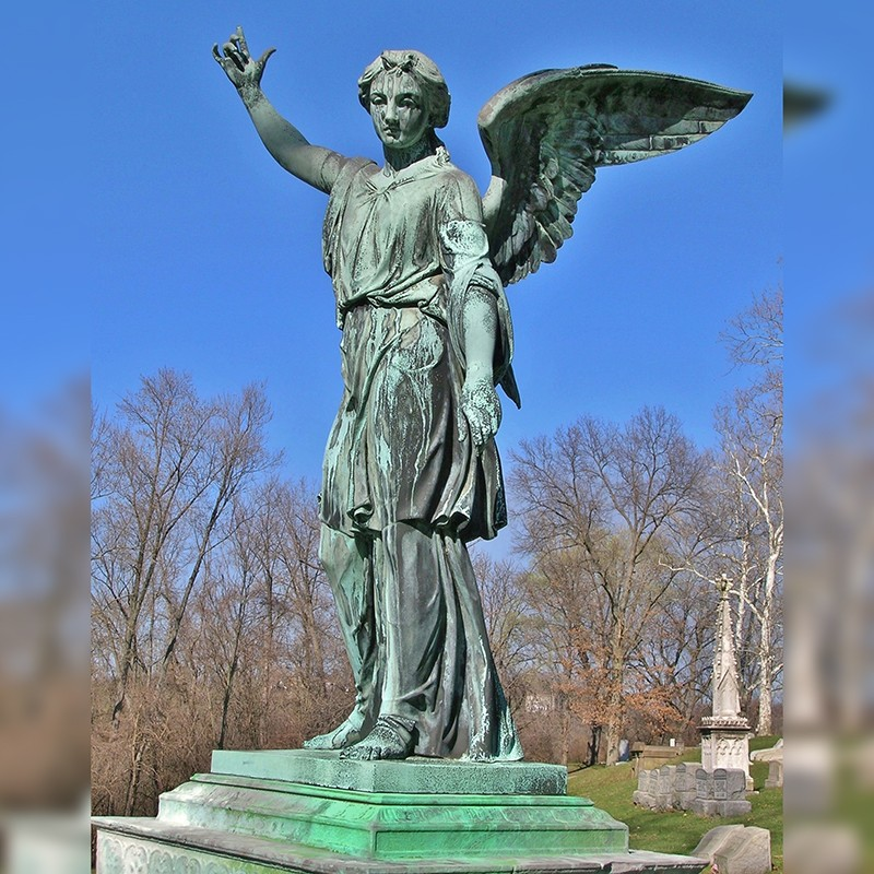 Replicas of the famous resurrection angel monument statue for sale