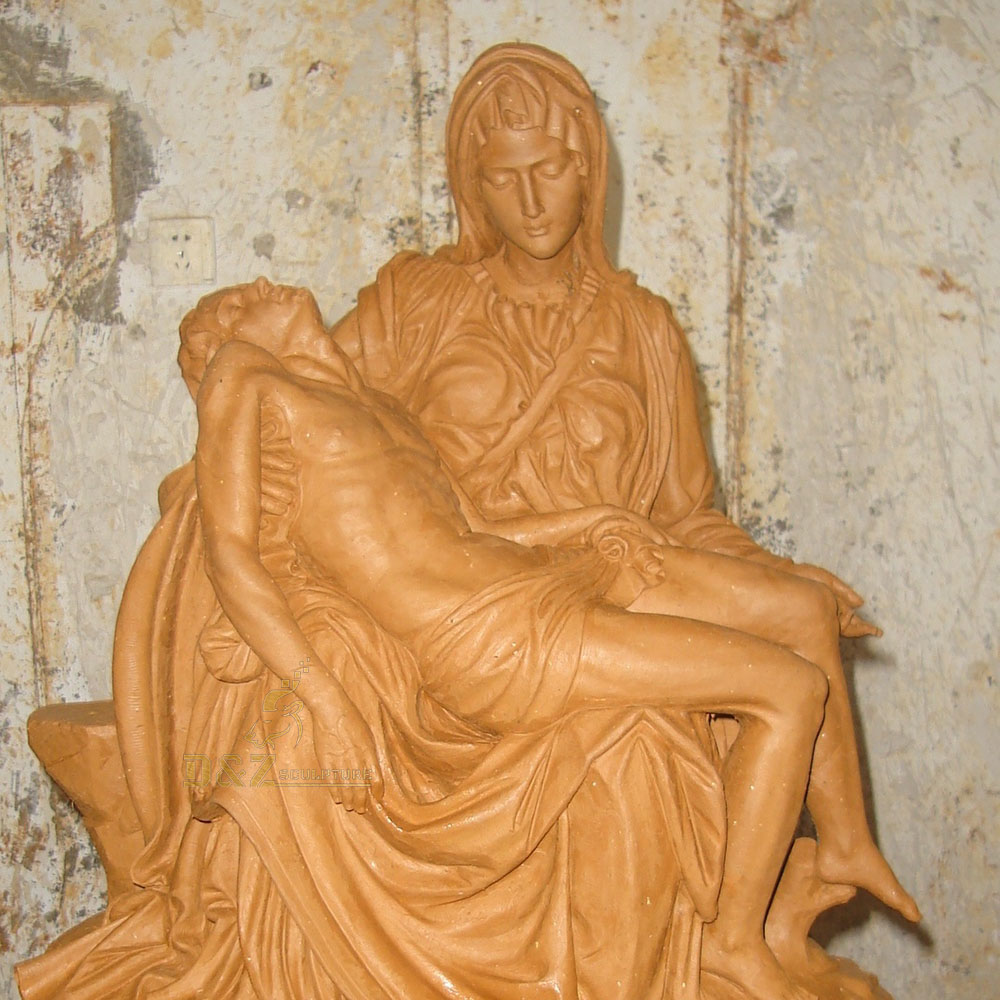 holy family bronze statue