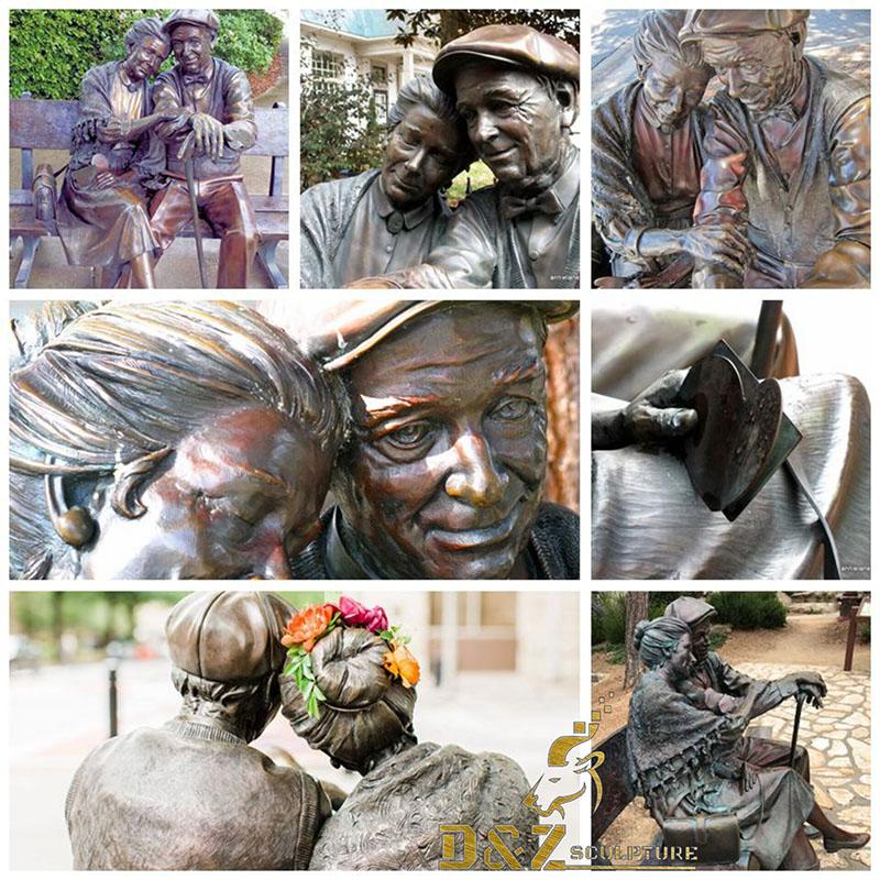 Bronze Valentine Statue