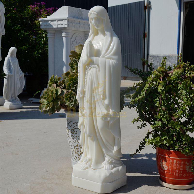 Decorative Religious Marble Virgin Mary Statues