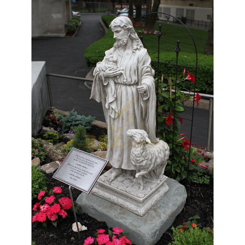 Classic Garden Sculpture Life Size Marble Jesus Statues For Sale