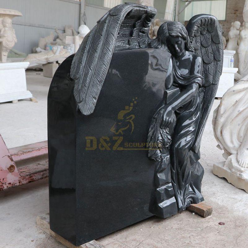 Door To Door Custom Design Angel Tombstone Beautiful Angel