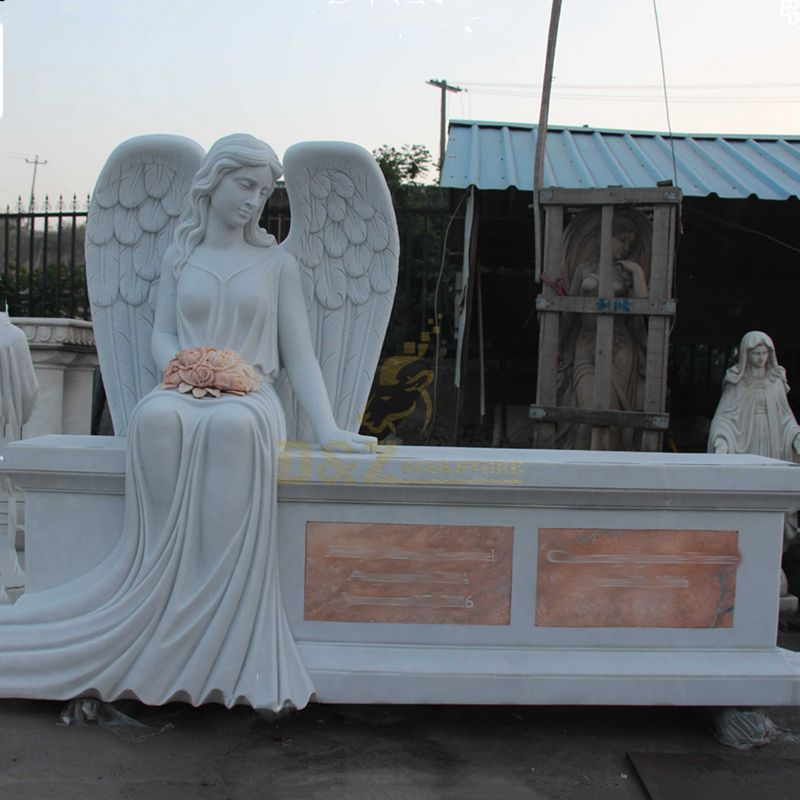 Good Design Cheap Carving Stone Angel Tombstone