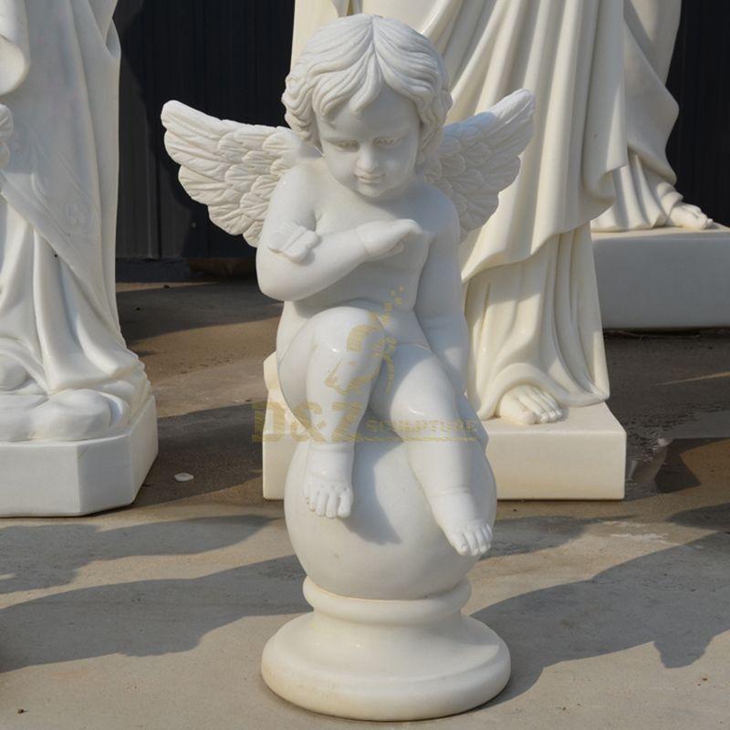 Decorative Life Size Stone Angel Figurines Wholesale