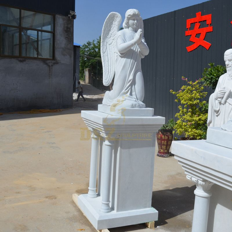 Customized Garden Large Marble Angel Statues Wholesale