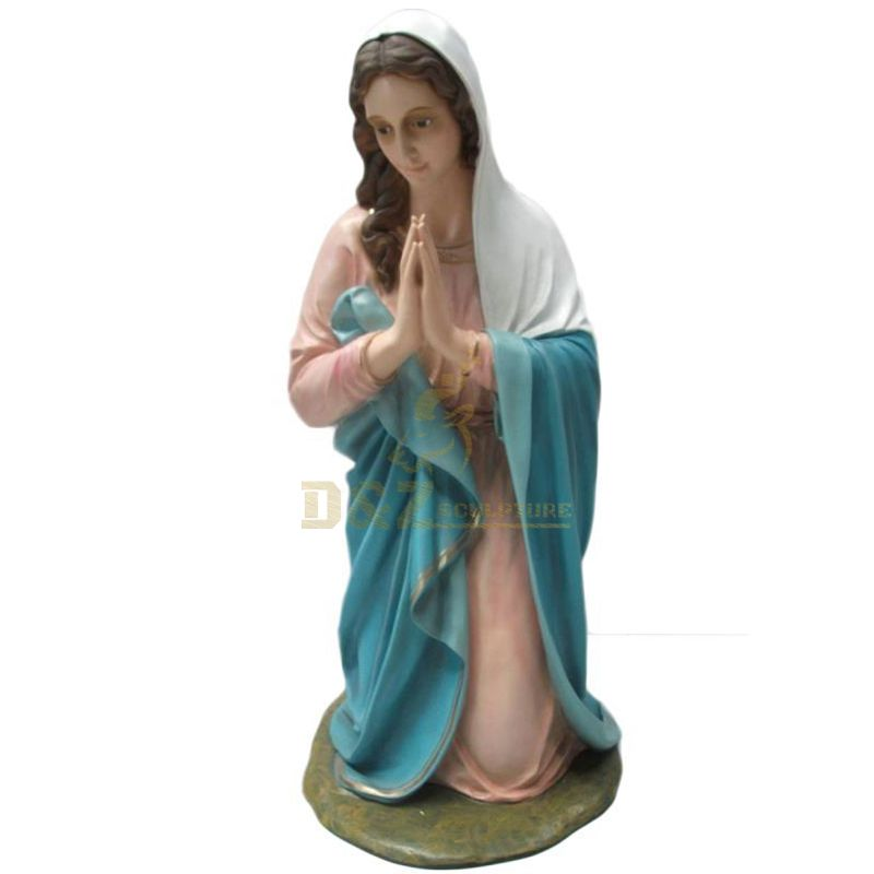 Home Decoration Resin Religion Sculpture Virgin Mary Statue