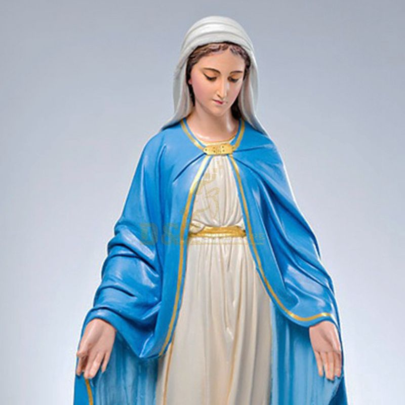 Mother Of God Christmas Decoration Resin Virgin Mary Statues