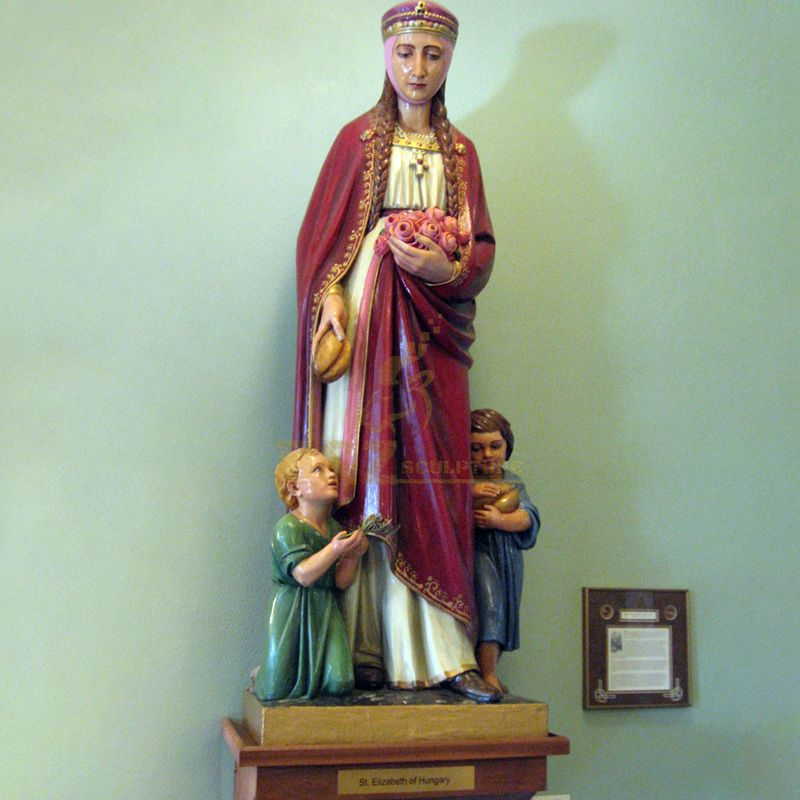Our Lady Of Lourdes Saint Blessed Virgin Figurine Mary Statue