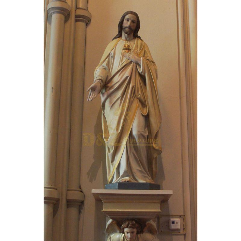 Polyresin Catholic Religious Statues Resin Jesus Figure Statue