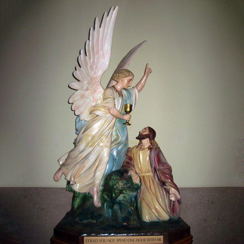 High Quality Cheap Price Christmas Catholic Jesus 3D Resin Catholic Religious Statues