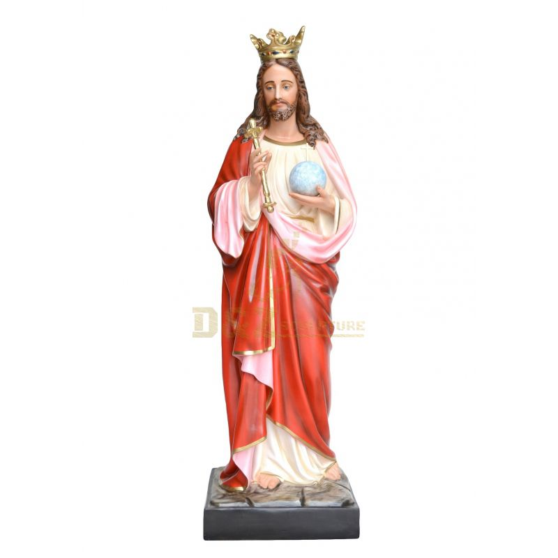 Wholesale Customized Resin Sacred Heart Jesus Statue For Home Dec