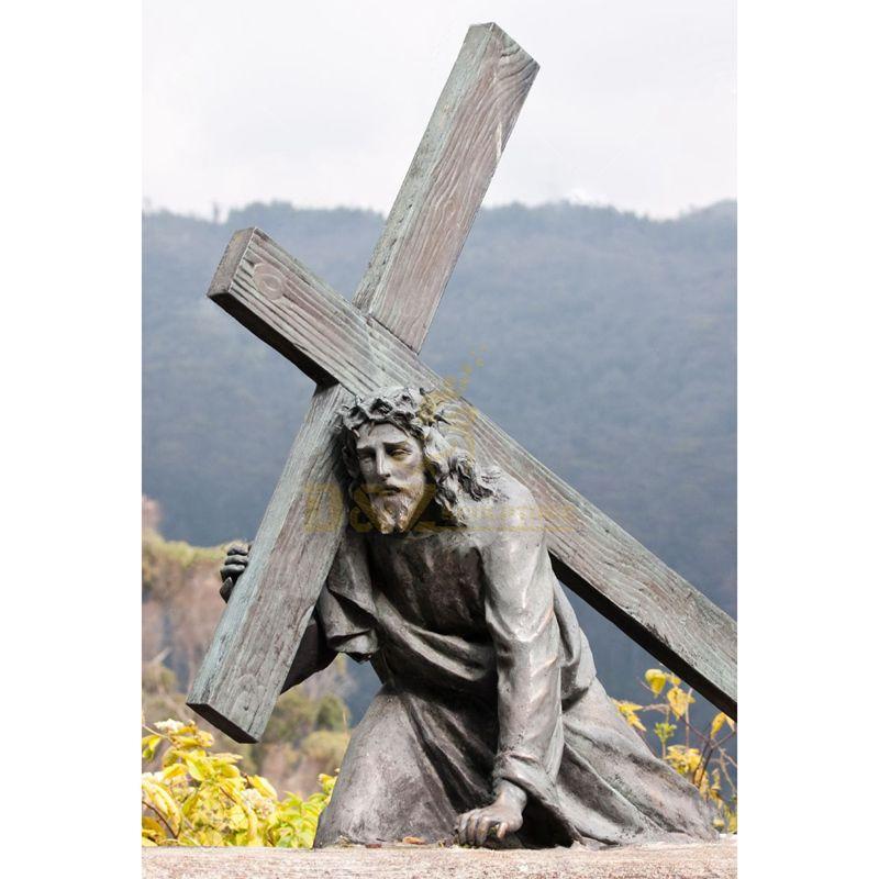 Church Decor Bronze Large Jesus Statue