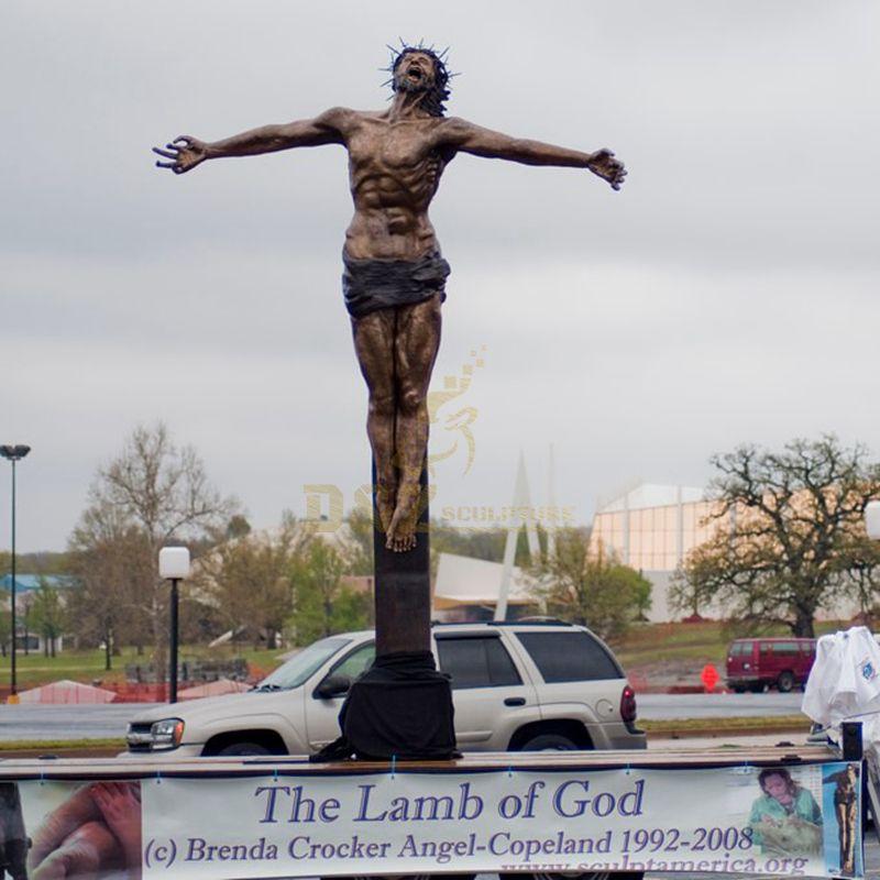Outdoor Religious Jesus Christ Bronze Statue