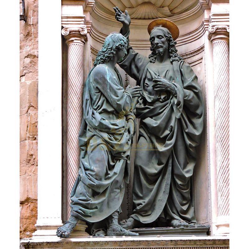 Famous Religious Life Size Bronze Jesus Man Statue Sculpture