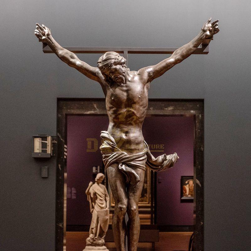 Life Size Bronze Religious Jesus Catholic Saint Figure Sculpture Statues