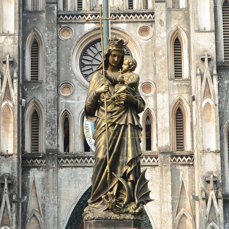 Customized Large Bronze Sculpture Marie De Incatiod