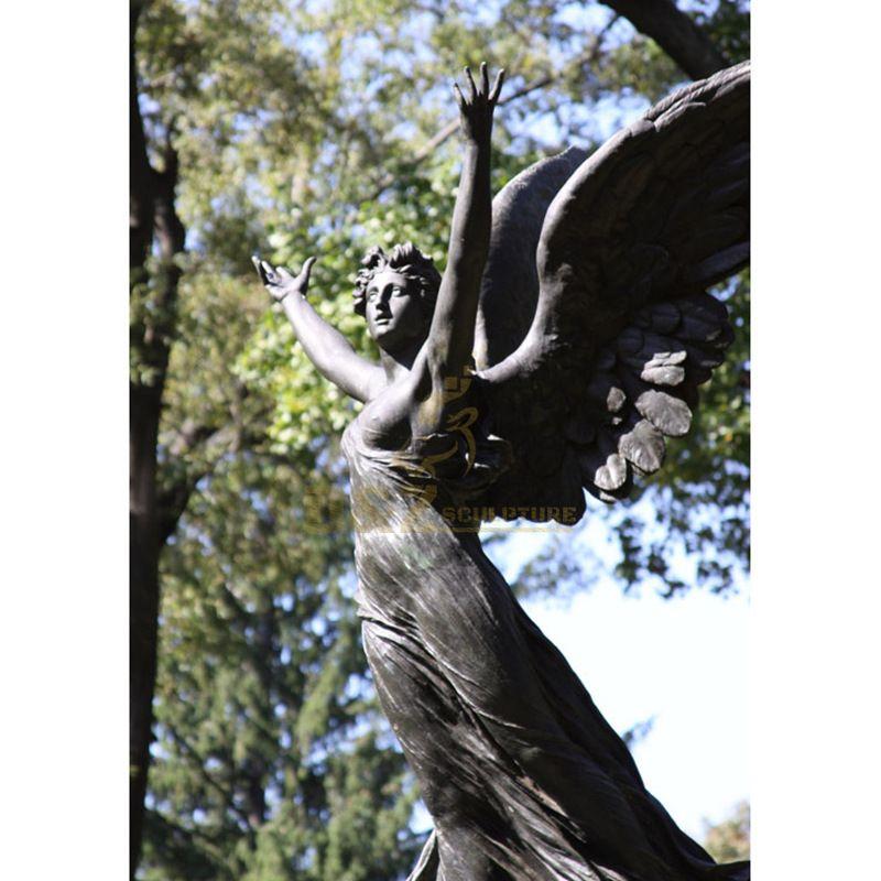 Myth Figurines Angel Lovers Home Decor Bronze Sculpture Statue