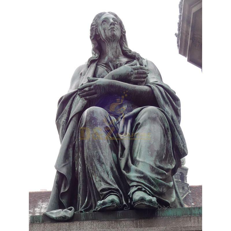 Classic Sculpture Bronze Angel Statue Sculpture