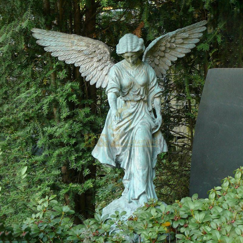 Life Size Angel Statues For Sale Bronze Winged Angel Girl Statue