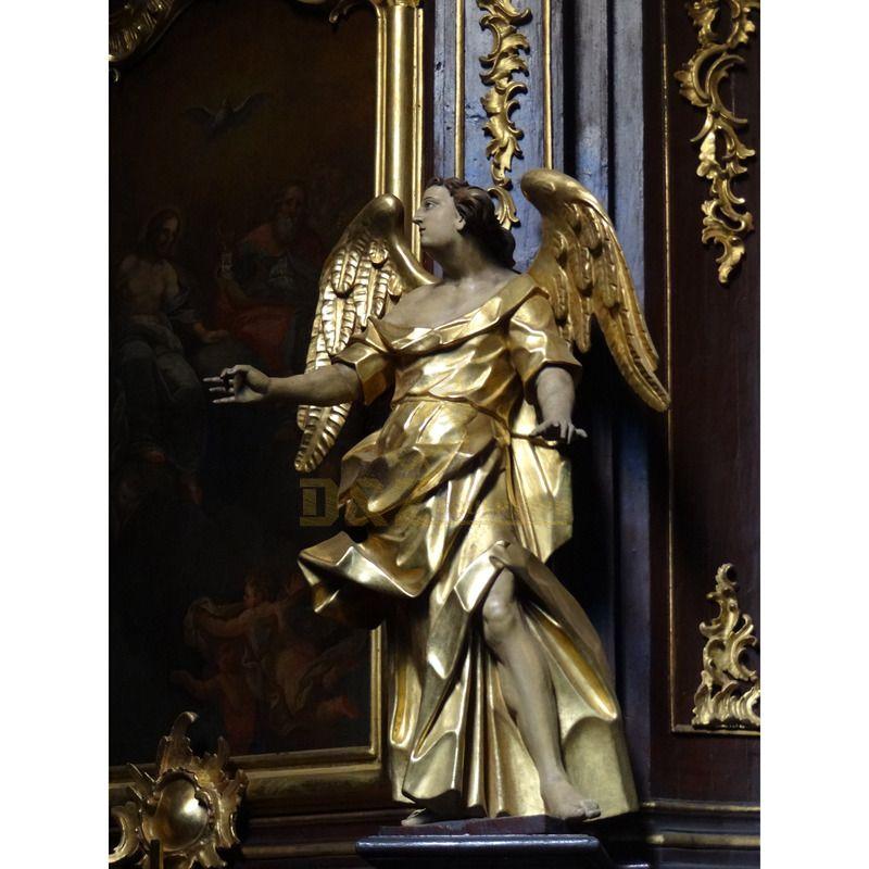 Indoor Decoration High Quality Bronze Angel Statue