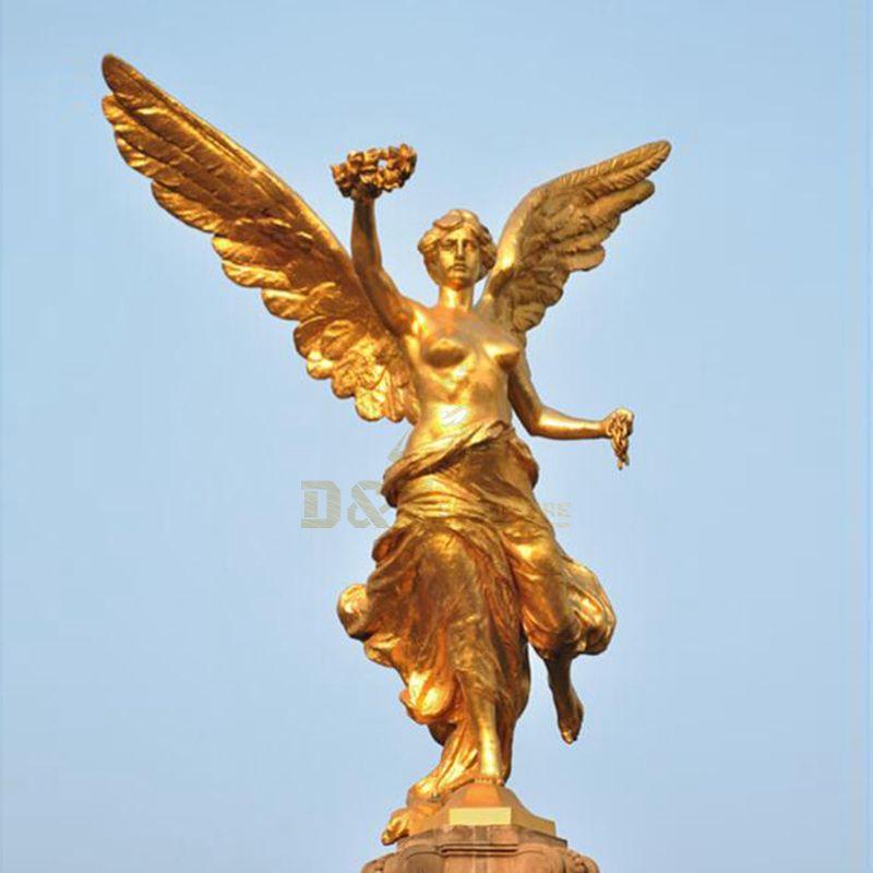 Large Angel Sculpture Bronze Greek Mythology God Statue For Sale