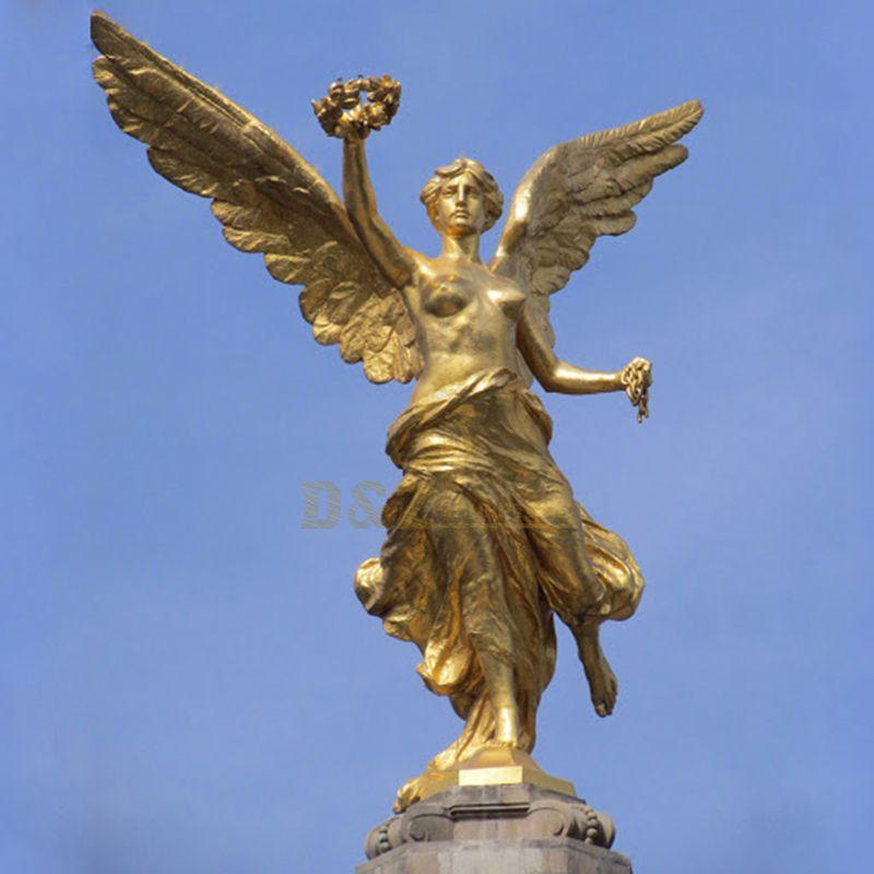 Large Outdoor Brass Sculpture Bronze Figure Angel Statues