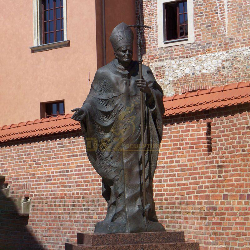 New Products Catholic Statue Of Pope John Paul II