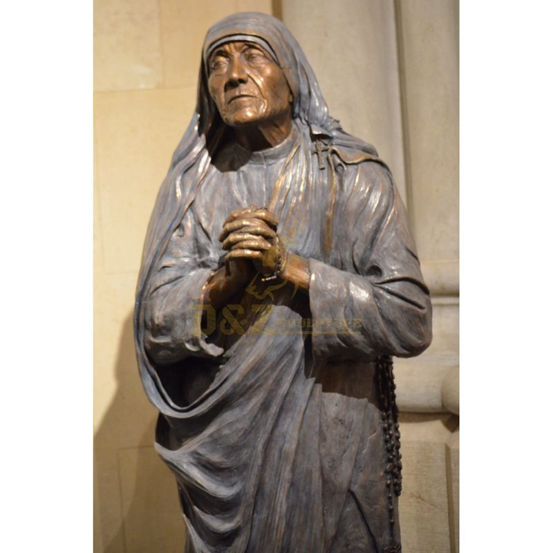 Life Size Catholic Religious Saint Statues Blessed Mother Teresa Of Calcutta Statue