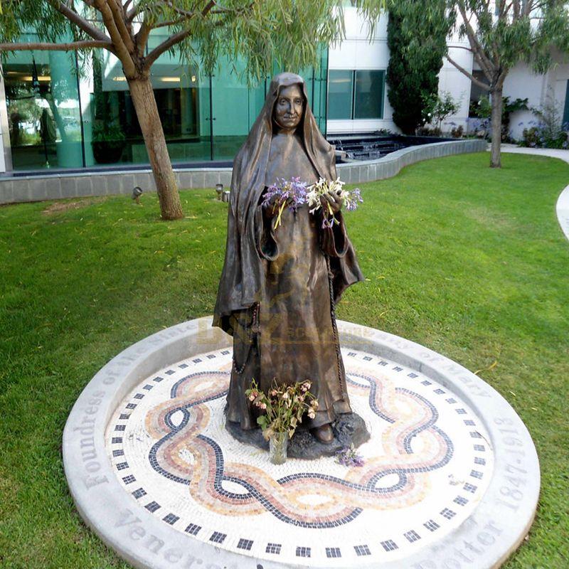 Metal Crafts Bronze Casted Mother Teresa Statue