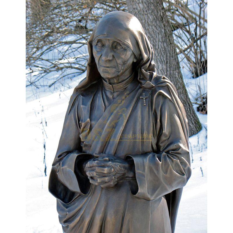 Bronze Regilous Catholic Statues St.Teresa For Sale