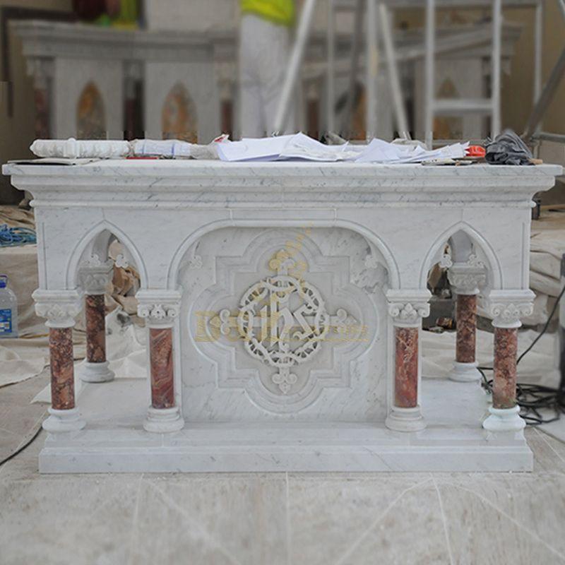 Religious Holy Marble Church Altar Table