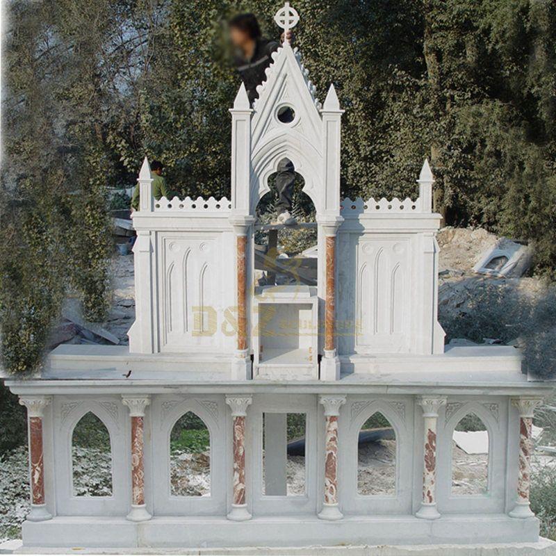 Hand Carved Marble Altar Table Catholic Reglious Church Altar Table
