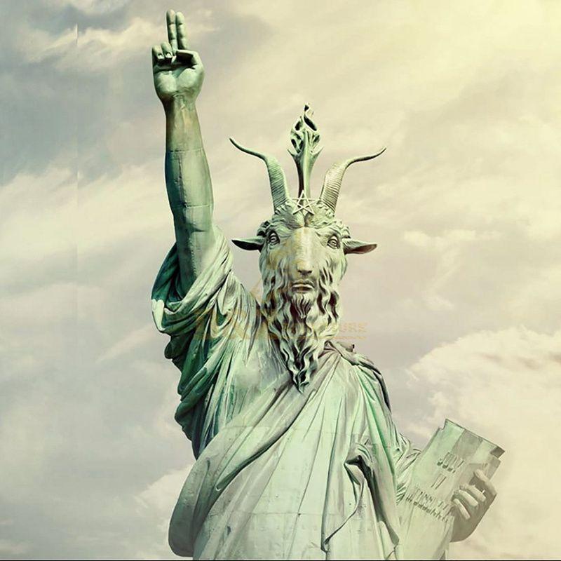 Newly Designed Bronze Statue Of Satan Statue Of Liberty