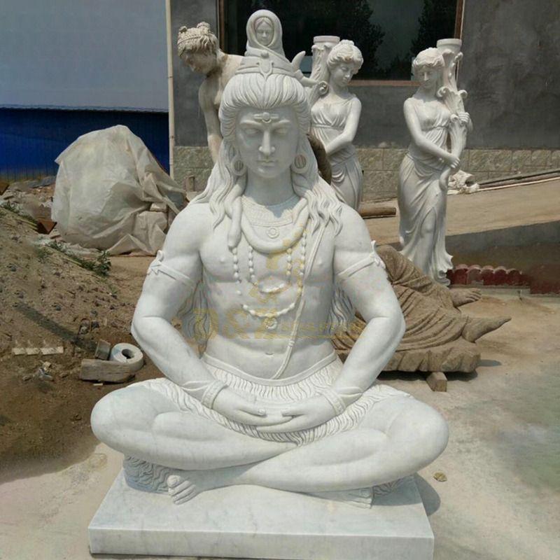 Shiva Meditating Statue For Outdoor Garden Decoration