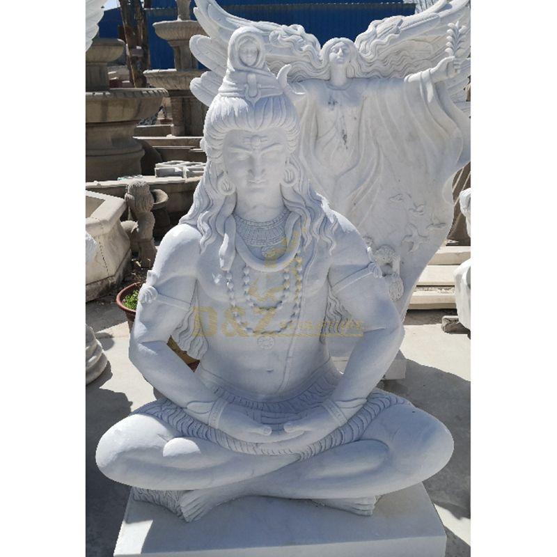 Natural Marble Shiva Statue