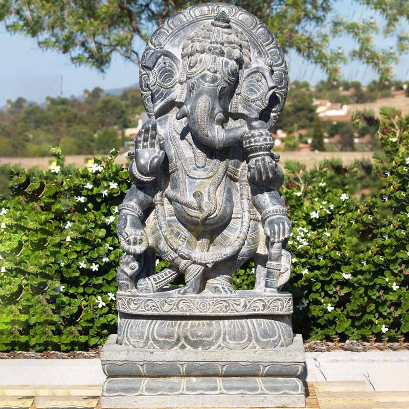 Lord Ganesha Stone Statue Marble Ganesh Statue