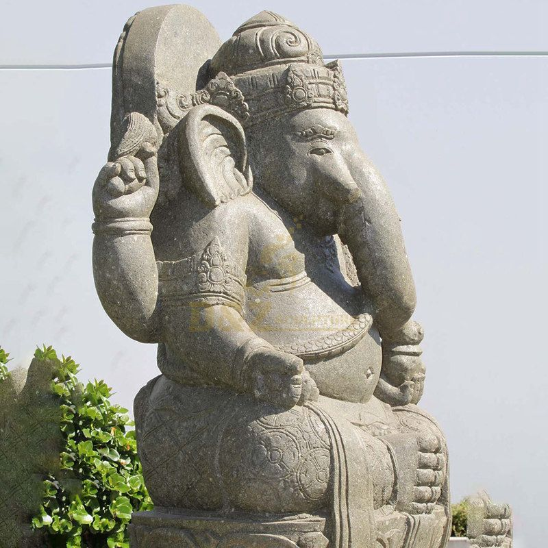 Stone Ganesha Sculpture Hand carving Statue
