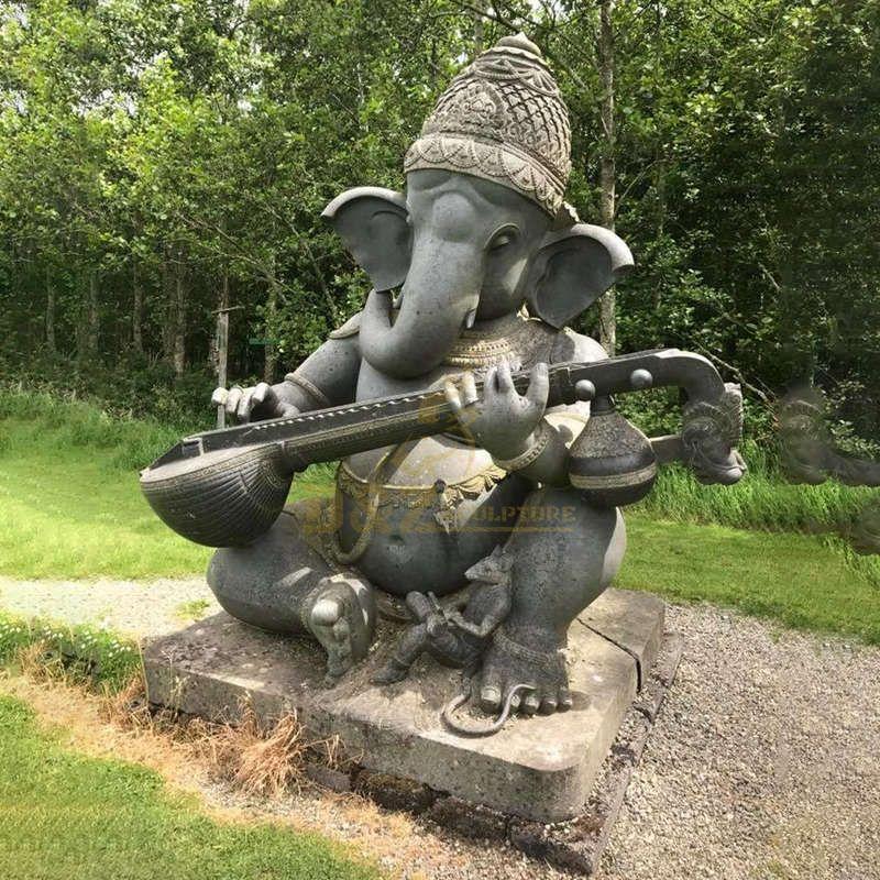 Indian God Ganesha Antique Statues