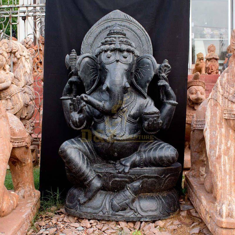 Religion Decoration Elephant Gods Idol Indian Ganesha Statue