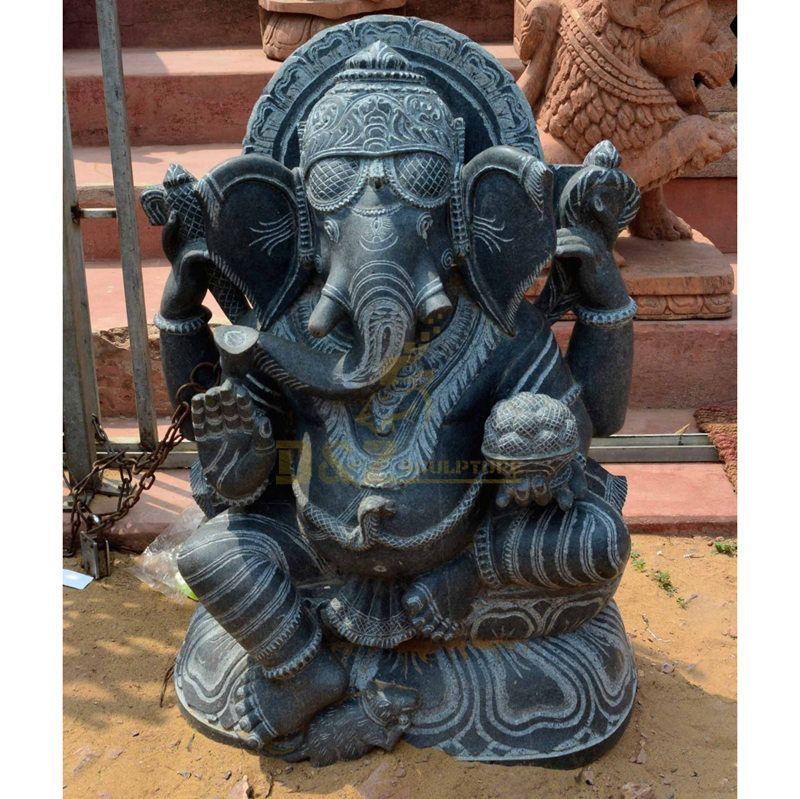 Indian Elephant God Ganesha Buddha Statues