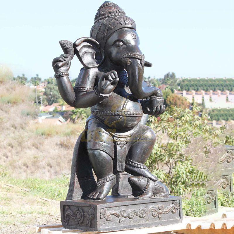 Custom-Made Religious Elephant Statue Ganesh Hindu God Figurines