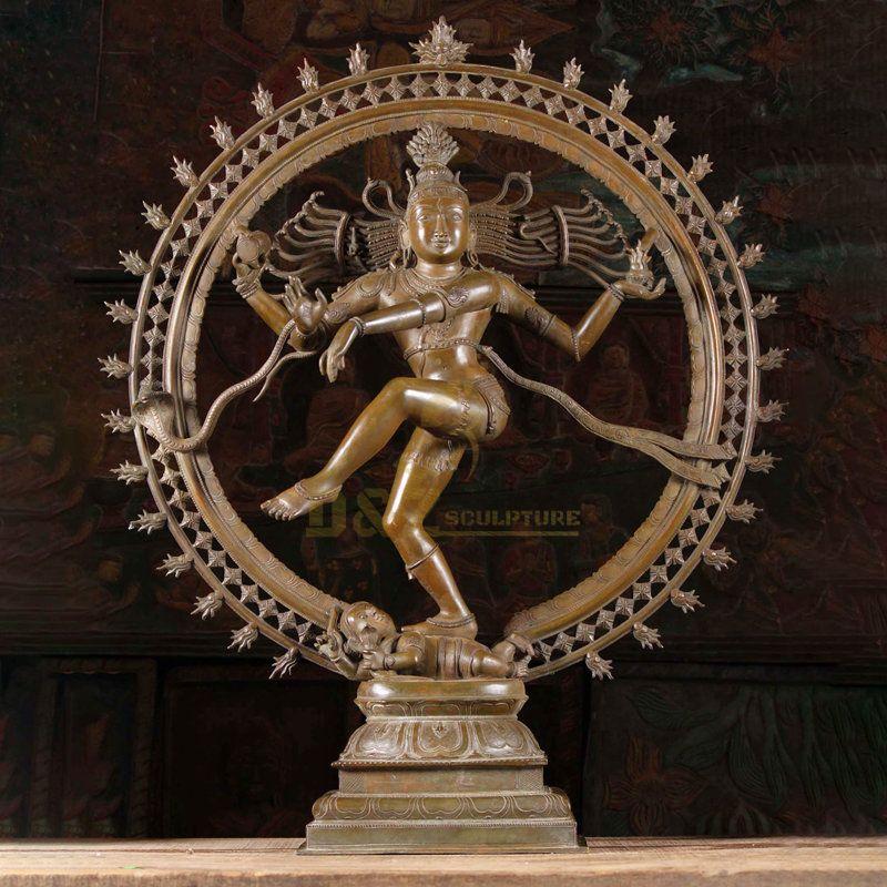 Dancing India Nataraja Buddha Sculpture For Sale