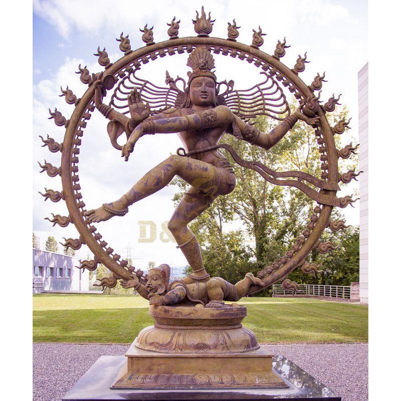 Garden Decor Indian God Bronze Nataraja Statue