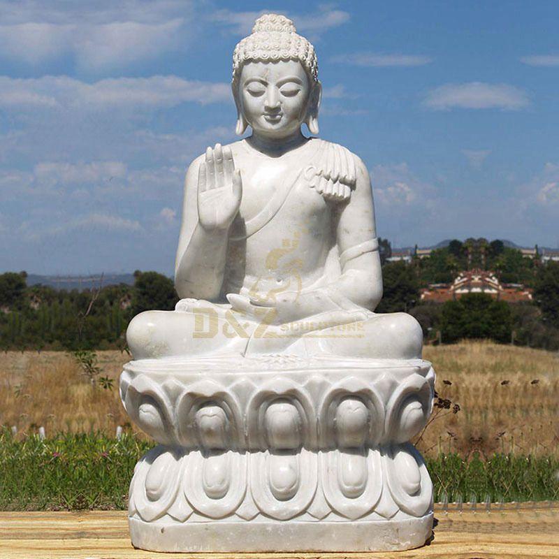 Beauty Meditating Granite Buddha Statues For Sale