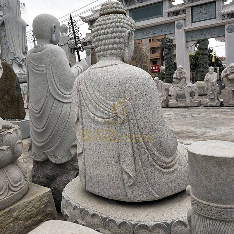 Carving Life Size Buddha Statue Stone For Sale