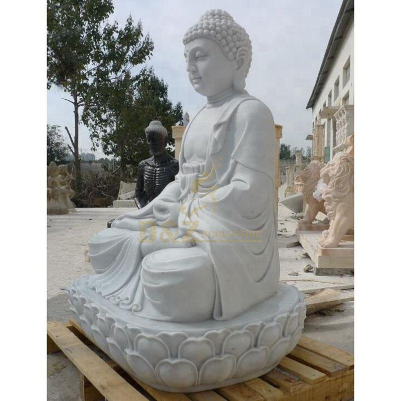 Life Size Large Stone Garden Buddha Statue