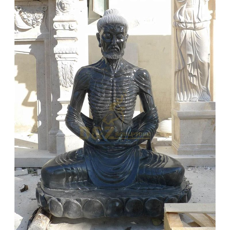 Outdoor Stone Carving Handmade Gautama Buddha Statue