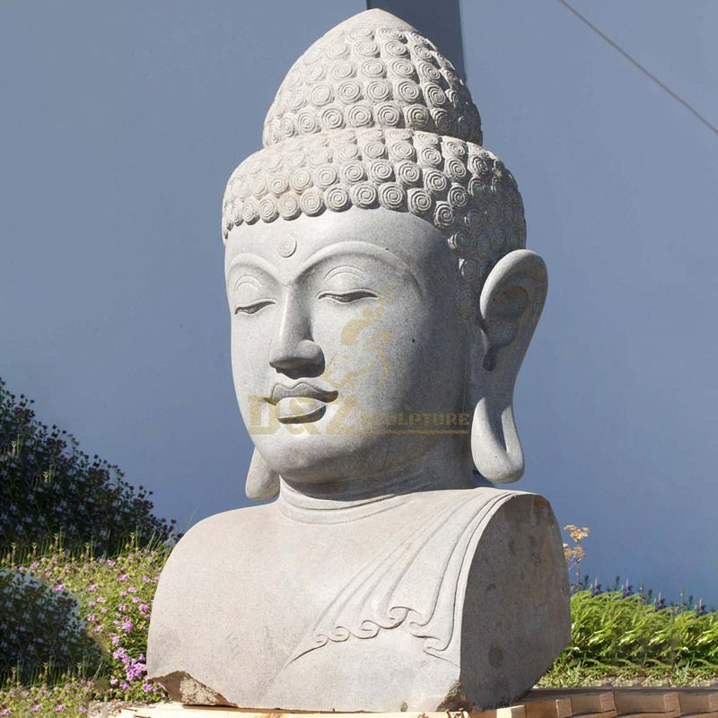 Buddhism Meditation Gautam Stone Buddha Head