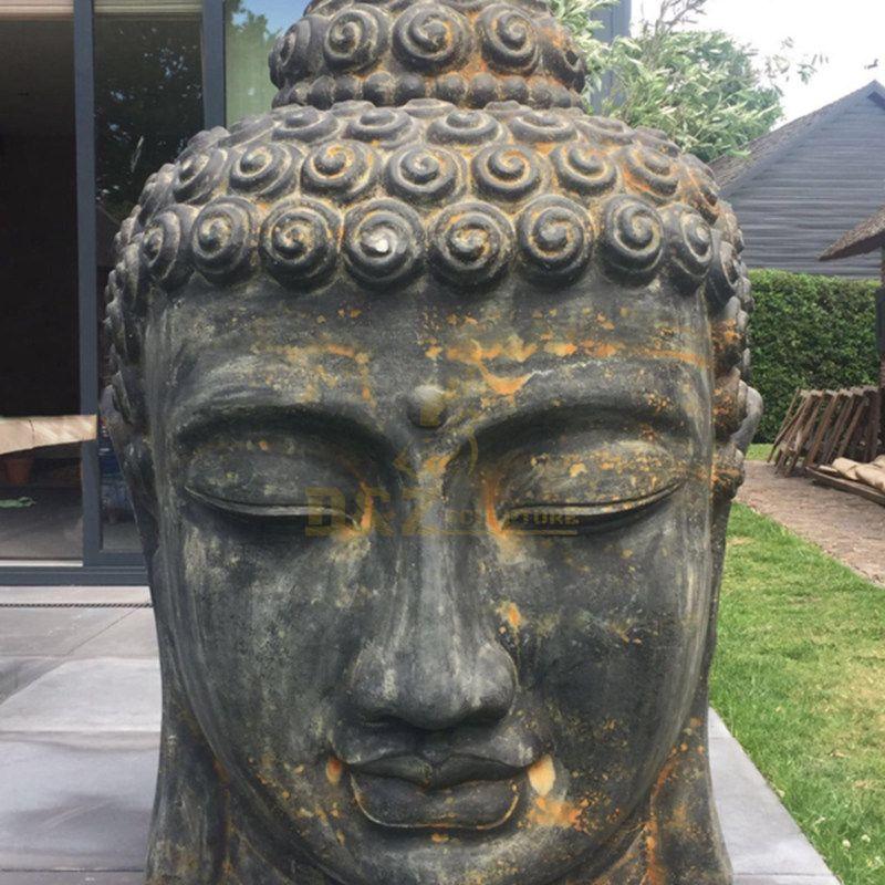 Large Eastern Marble Buddha Statue Buddha Head