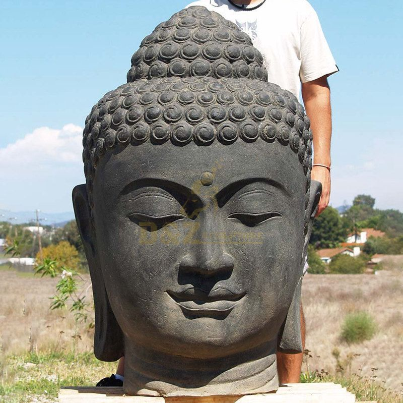 Sovereign Buddha Head Outdoor Statues